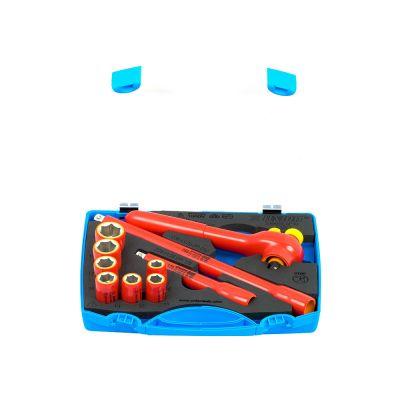 Μονωμένα εργαλεία συσφίξεις (κλειδιά καρυδάκια καστανιές)