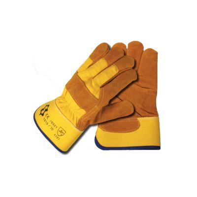 Γάντια εργασίας Δερματοπάνινα