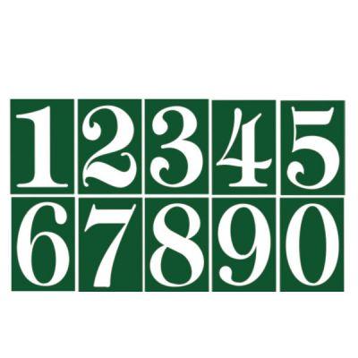 ΑΡΙΘΜΟΣ ΔΙΕΥΘΥΝΣΗΣ PVC 7.5X11CM No1 02-570